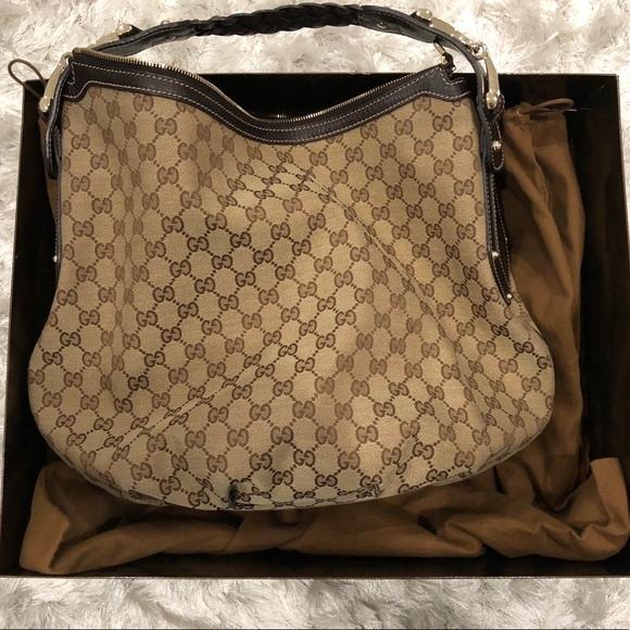 e87a6abdebfb Gucci Bags | Authentic Gg Pelham Hobo Handbag | Poshmark